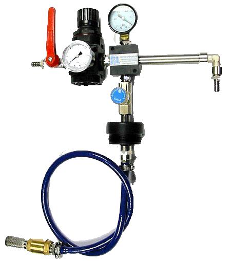 Miscelatore venturimetrico per la preparazione dell'emulsione